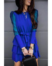 Šaty - kód 8384 - tmavě modrá