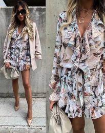 Šaty - kód 2728 - vícebarevné