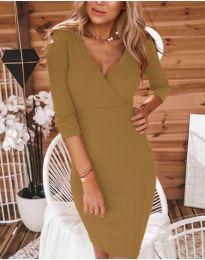 Šaty - kód 956 - hněda