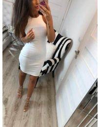 Šaty - kód 2623 - bíla