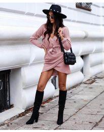 Šaty - kód 395 - růžová