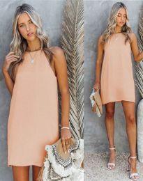 Šaty - kód 2169 - světle růžová