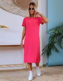 Šaty - kód 81800 - 2 - cyclamenová