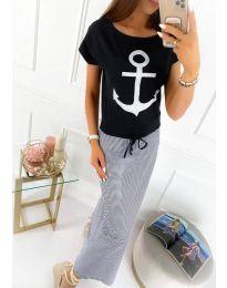 Šaty - kód 6015 - vícebarevné
