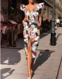 Šaty - kód 4469 - vícebarevné