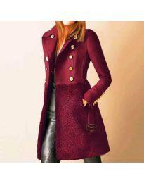 Kabát - kód 3100 - 2 - bordeaux