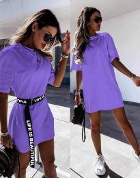 Šaty - kód 8808 - fialová