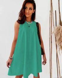 Šaty - kód 9862 - olivová  zelená