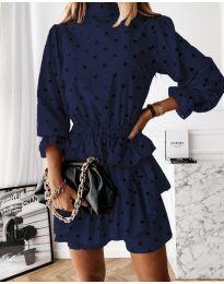 Šaty - kód 3665 - tmavě modrá