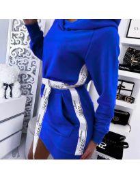 Šaty - kód 4483 - tmavě modrá
