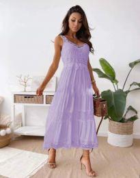 Šaty - kód 4672 - světle fialová