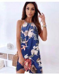 Šaty - kód 7027 - modrá