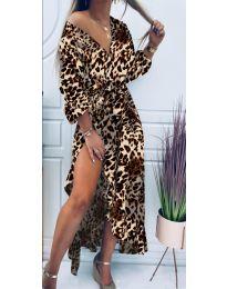 Šaty - kód 5454 - 6 - vícebarevné