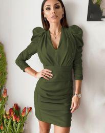 Šaty - kód 7937 - zelená