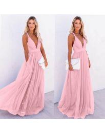Šaty - kód 5587 - růžová