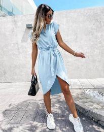 Šaty - kód 2074 - světle modrá