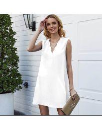 Šaty - kód 1429 - bílá