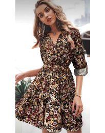 Šaty - kód 979 - 3 - barevné