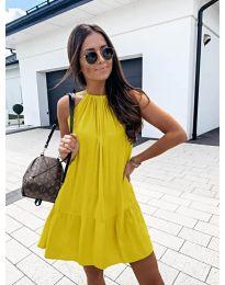 Šaty - kód 632 - žlutá