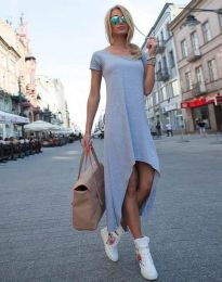 Šaty - kód 5507 - šedá