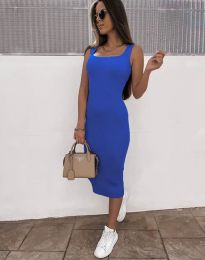 Šaty - kód 5964 - modrá