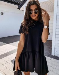 Šaty - kód 4465 - černá