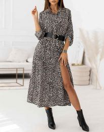 Šaty - kód 3853 - vícebarevné