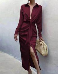 Šaty - kód 6459 - bordeaux