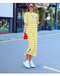 Šaty - kód 9910 - žlutá