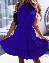 Šaty - kód 9949 - modrá