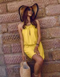 Šaty - kód 8399 - žlutá