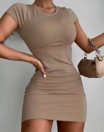 Šaty - kód 12833 - cappuccino