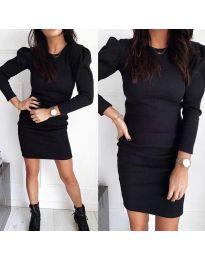 Šaty - kód 3519 - černá