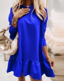 Šaty - kód 9376 - modrá