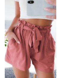 Krátké kalhoty - kód 3637 - broskvová