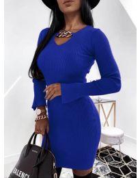 Šaty - kód 5666 - tmavě modrá