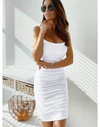 Šaty - kód 603 - bílá