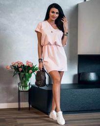Šaty - kód 3214 - růžová