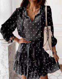 Šaty - kód 7113 - černá