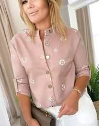 Košile - kód 2921 - 1 - pudrová