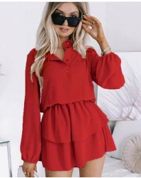 Šaty - kód 4093 - červená