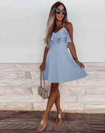 Šaty - kód 2739 - světle modrá