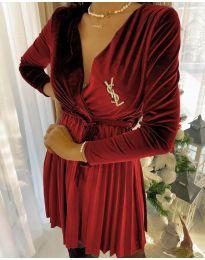 Šaty - kód 8619 - 5 - červená