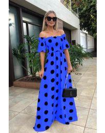 Šaty - kód 1140 - modrá