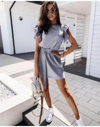 Šaty - kód 0071 - šedá