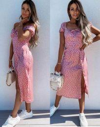 Šaty - kód 2127 - růžová