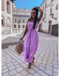 Šaty - kód 1230 - fialová