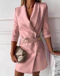 Šaty - kód 9257 - pudrová