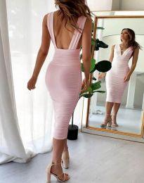 Šaty - kód 1389 - 1 - růžova