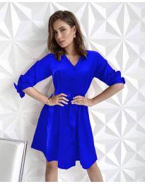 Šaty - kód 9028 - modrá